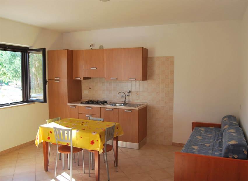 Angolo Cottura In Veranda : Appartamenti vieste tanti comfort in case vacanze residence sul